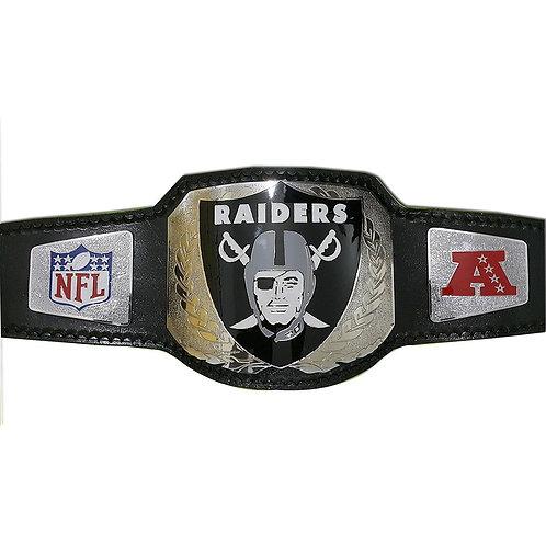 Raiders Championship Replica Title Belt