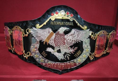 Nwa International Tag Team Memorable Championship Belt