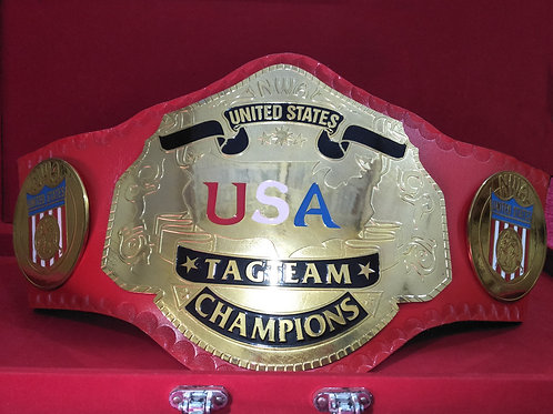 NWA United States Tag Team Memorable Championship Belts
