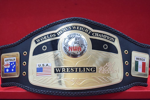 NWA World Heavyweight Wrestling Memorable Replica Championship Belt