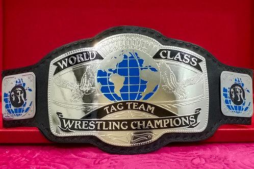 World Class Tag Team Memorable Championship Belt