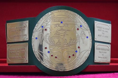 Hogan Big Green World Wide Wrestling Championship Belt