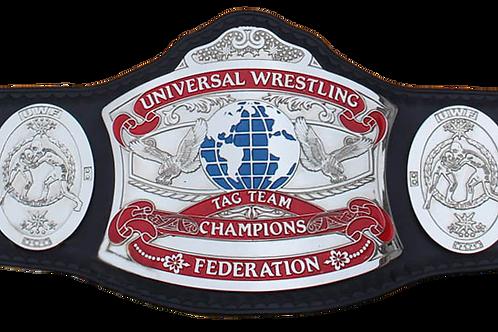 UWF Tag Team Heavyweight Championship Replica Title Belt