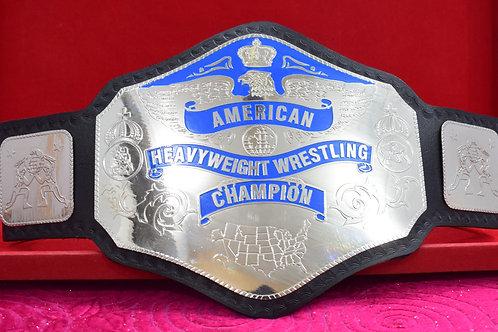 NWA American Heavyweight Wrestling Replica Championship Belt