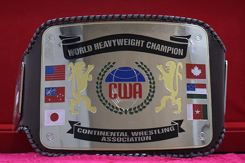 CWA World Heavyweight Continental Wrestling Championship Belt