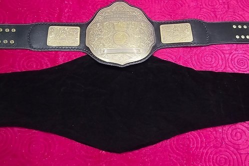 ADULT SIZE REPLICA CHAMPIONSHIP TITLE BELT CLOTH BAG COVER