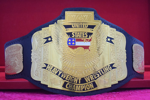 WCW United States Heavyweight Wrestling Championship Memorable Belt