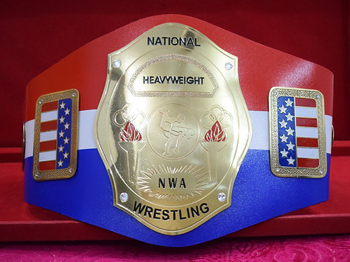 NWA National Heavyweight Wrestling Championship Belt