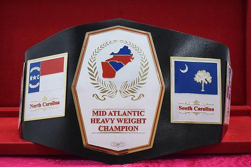 Mid Atlantic Heavyweight Memorable Championship Belt