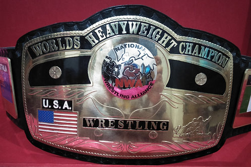 NWA World Heavyweight Wrestling Memorable Replica Championship Belt