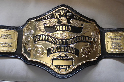 Hogan 1985 Wrestling Championship Belt