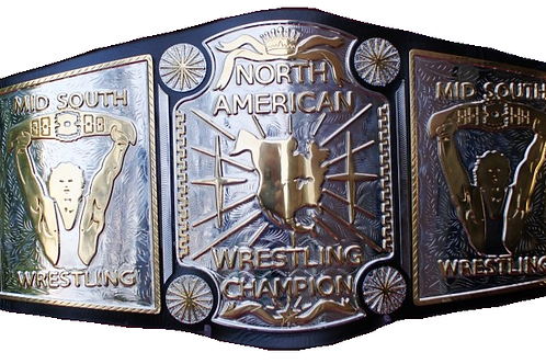 Mid-South North American Heavyweight Replica Championship Belt