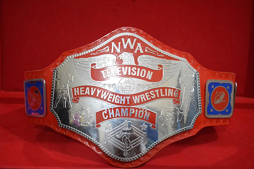NWA Red Television Championship Title Replica Belt