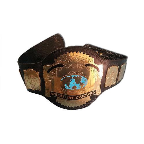 Unified World Wrestling Replica Title Belt