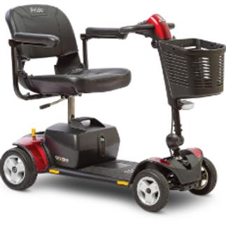 Pride Go-Go Elite Traveler Plus 4-Wheel
