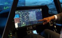 Elbit Systems y Harris reemplazarán la pantalla panorámica del F-35 en 2019.