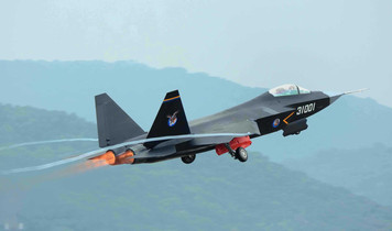 China presenta el FC-31 en el Paris Air Show