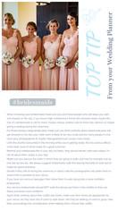 Bridesmiads & Teenage Flower Girls