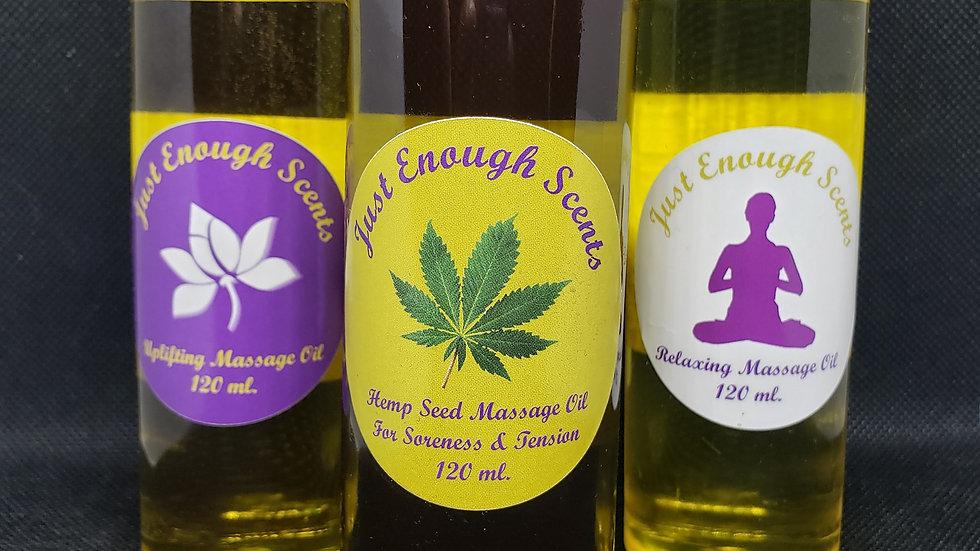 JES Massage Body Oils 120 ml.