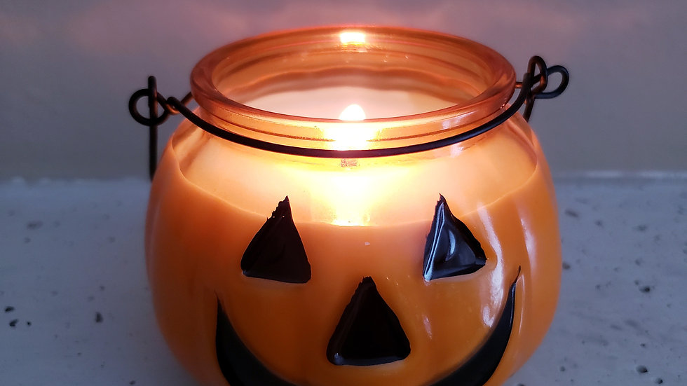 2 for $ 24 JES 10 oz. Halloween Jack-O-Latern Soy Wax Candle