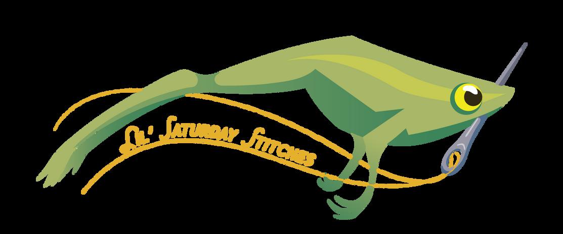 Lil' Saturday Stitches Logo #2