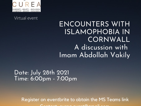Join us on July 2th at 6pm as we  sit down with Imam Abdollah Vakily.
