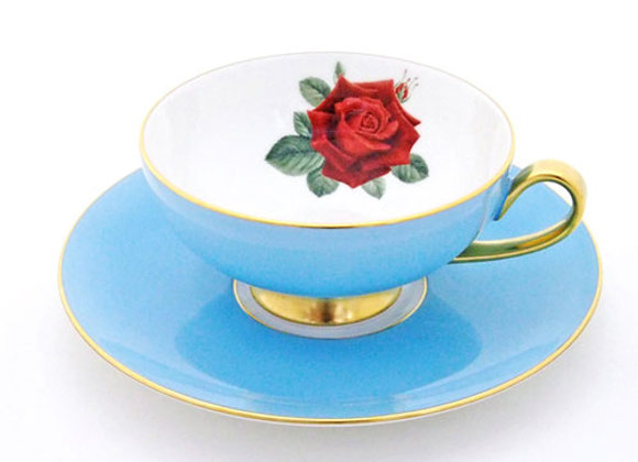 Narumi Teacup & Saucer Light Blue