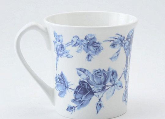 Elizabeth Rose Blue York Mug
