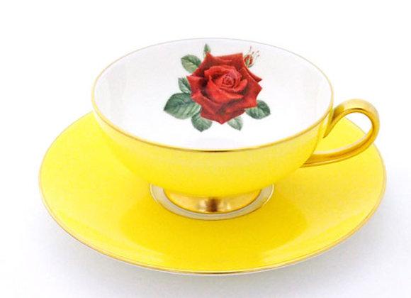 Narumi Teacup & Saucer Oban Yellow