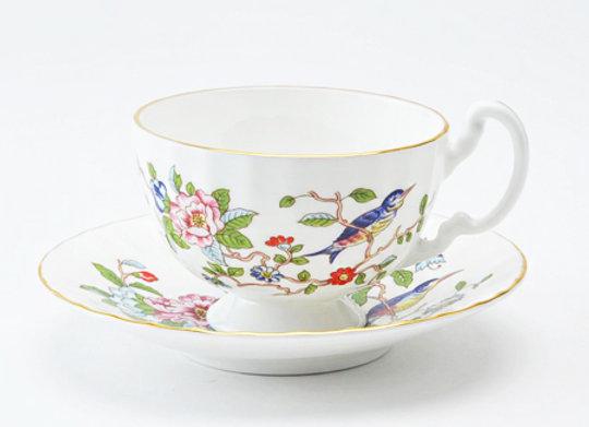 Pembroke Teacup & Saucer