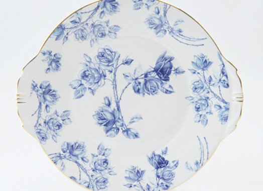 Elizabeth Blue Bread & Butter Plate
