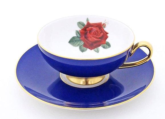 Narumi Teacup & Saucer Oban Blue