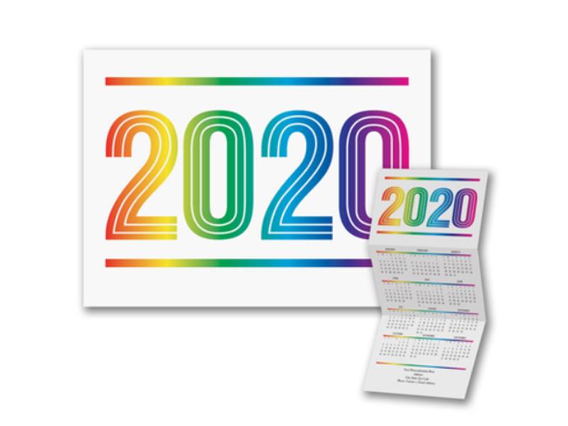 Colors of the Rainbow Calendar