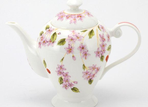 Cherry Blossom Happiness Teapot