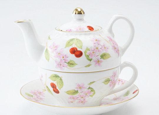 Cherry Blossom Tea For One