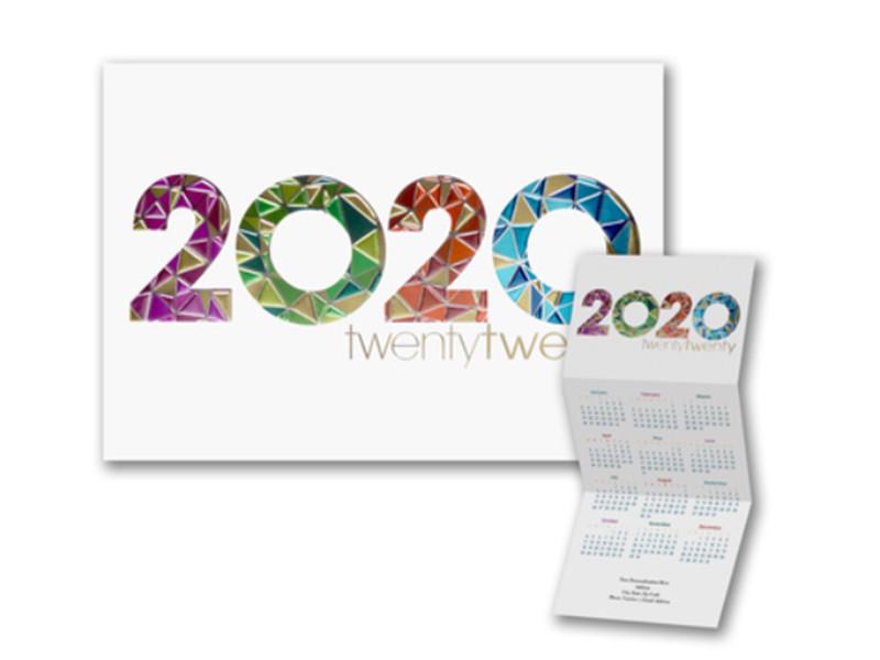 Modern Mosaic Calendar