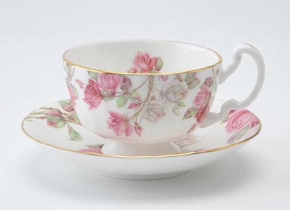 Elizabeth Rose Teacup & Saucer