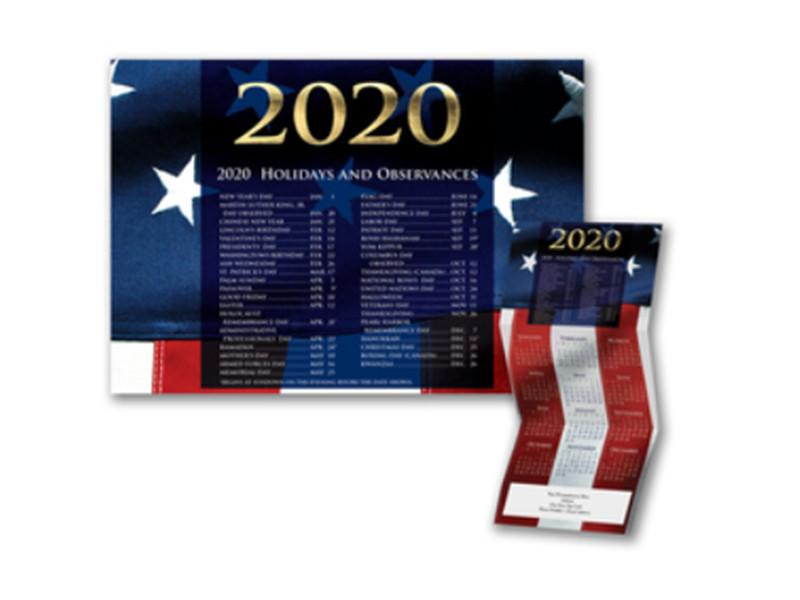 Patriotic Splendor Calendar