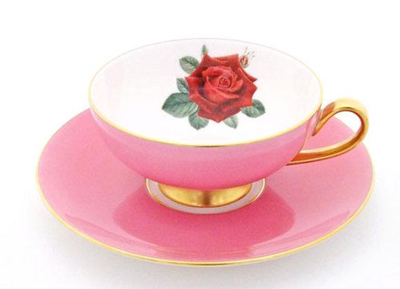 Narumi Teacup & Saucer Oban Pink