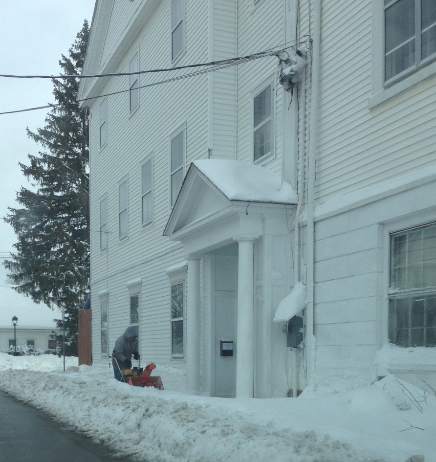 Handicap Entrance on Hudson Street