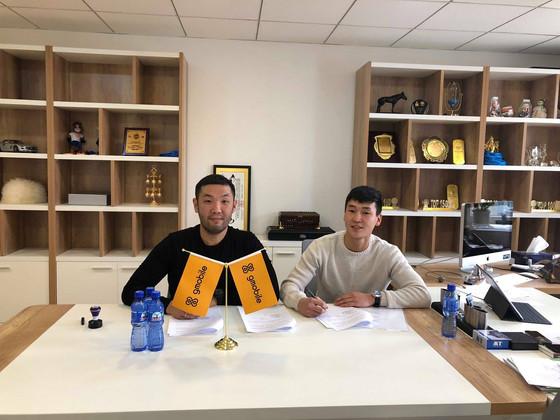 UB City Signs Starlet Temuujin