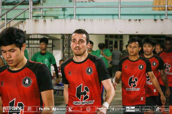 French Striker Nicolas Vandelli Signs for Thai Club