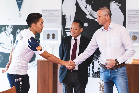 Ganbold Ganbayar Signs Professional Contract with Puskás Akadémia FC, Makes History