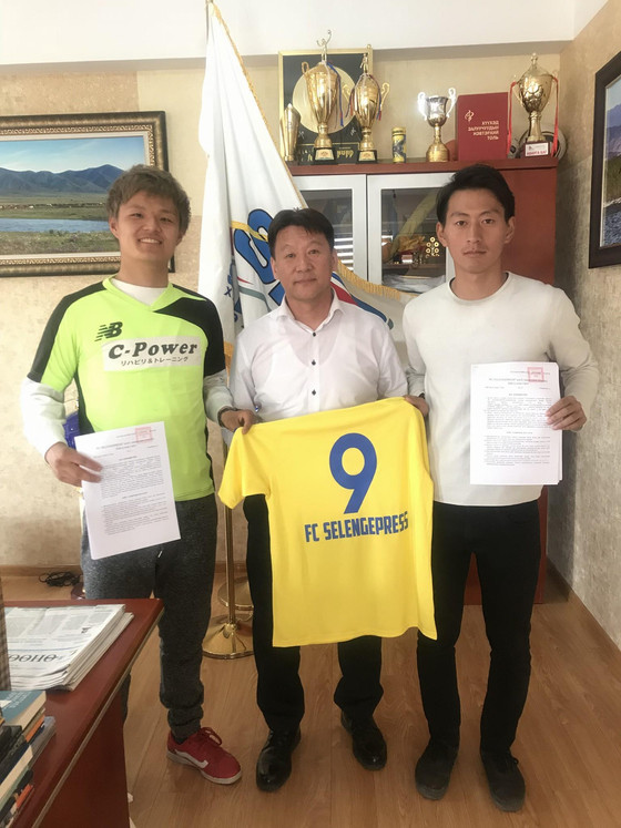 FC Selengepress Signs Two