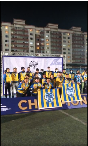 Khovd Crowned 2021 1st League Champs