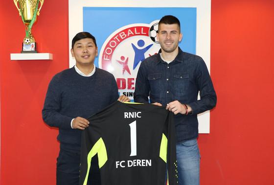 GK Milos Rnic Returns to Deren FC