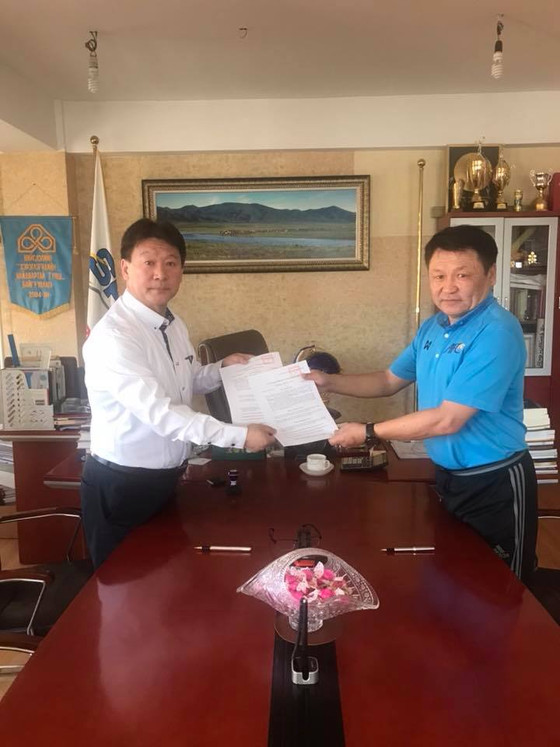 "Mongolia's Only ""A"" Licensed Coach Signs for FC Selengepress"