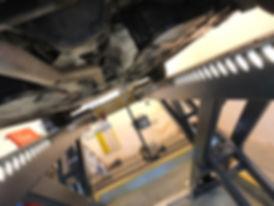 MOT bay at Godalming Garage Ltd