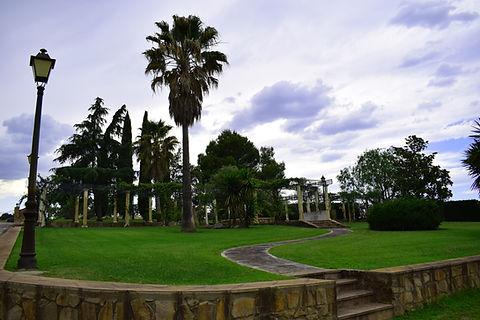 Jardín principal ideal para bodas y eventos