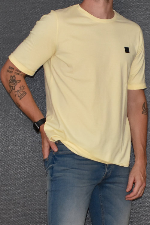 Patch Tee Yellow